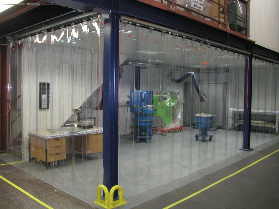 Puertas industriales cortinas de lamas cortina de - Puerta de lamas ...